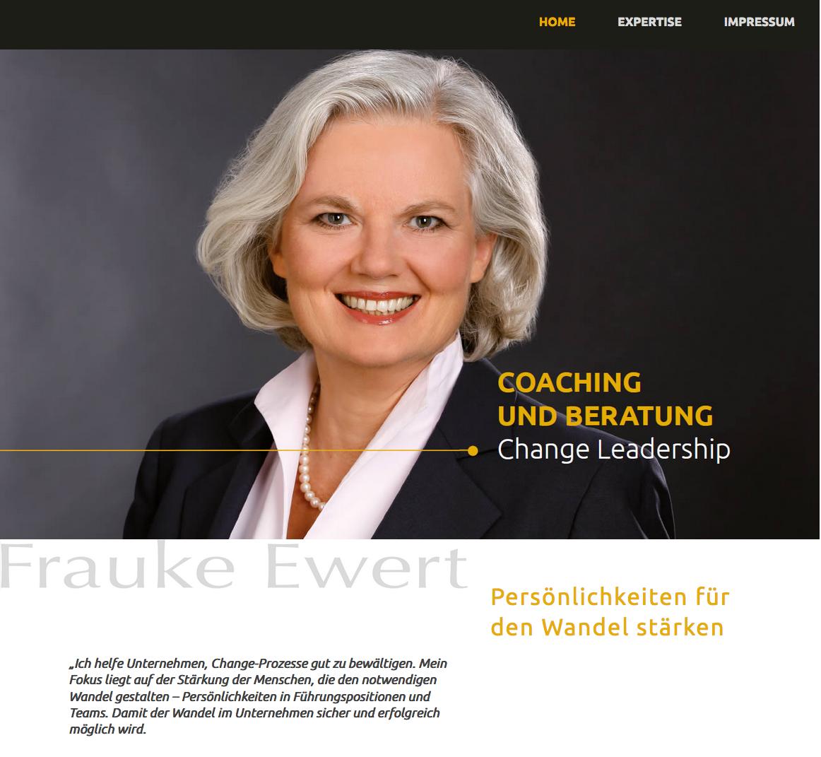 Webseite FraukeEwert